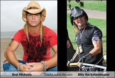 Bret Michaels Totally Looks Like Billy the Exterminator