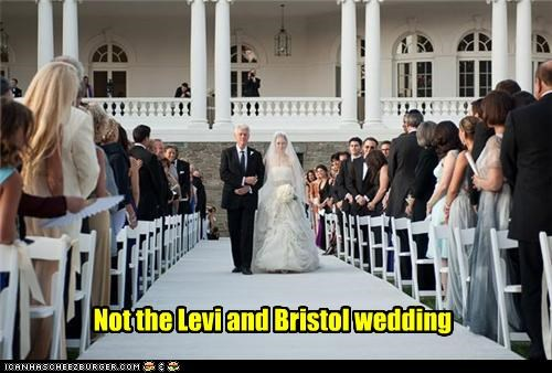 Not the Levi and Bristol wedding