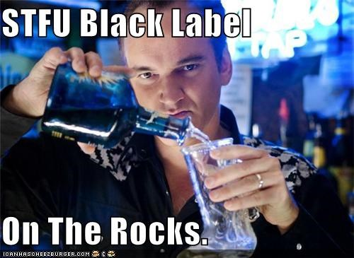 STFU Black Label  On The Rocks.