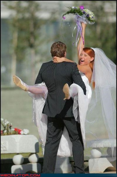 Crazy Brides,crazy groom,cute wedding photo,fashion is my passion,funny wedding photos,get a room,getting it on,happy-labor-day,were-in-love,were-married,white hose,woo hoo