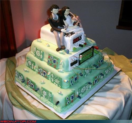 This Wedding Cake is the Bomb