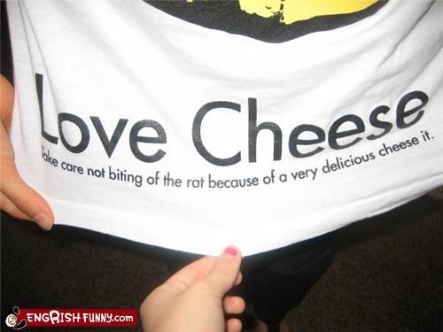 cheese,clothes,shirts
