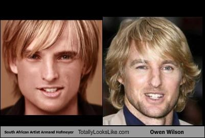South African Artist Armand Hofmeyer Totally Looks Like Owen Wilson