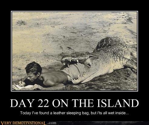 DAY 22 ON THE ISLAND