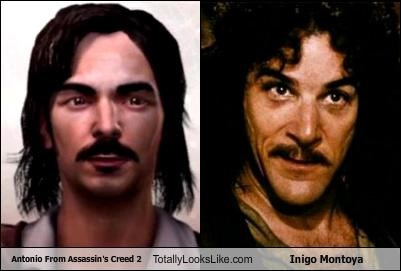 Antonio From Assassin's Creed 2 Totally Looks Like Inigo Montoya