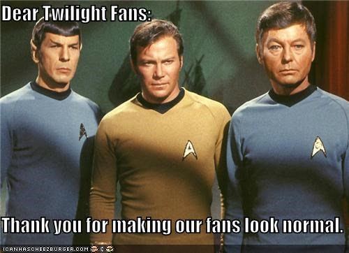 DeForest Kelley,funny,Leonard Nimoy,sci fi,Star Trek,William Shatner