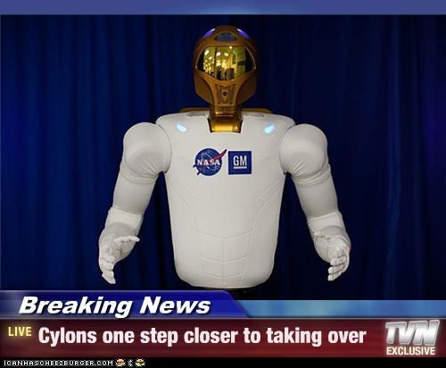 Breaking News - Cylons one step closer to taking over