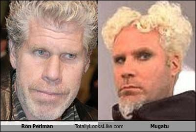 Ron Perlman Totally Looks Like Mugatu