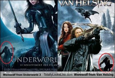 Werewolf from Underworld 3 Totally Looks Like Werewolf from Van Helsing