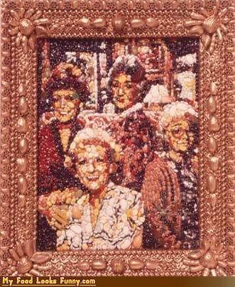 art,golden,golden beans,golden girls,painting,people,portrait,protein,television,TV,tv shows