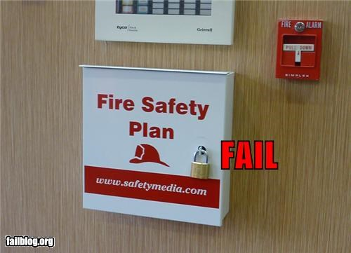 Fire Safety FAIL
