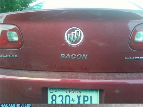 "Buick Bacon Has the Best ""New Car Smell"""