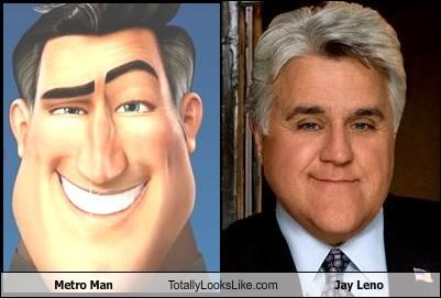 Metro Man Totally Looks Like Jay Leno