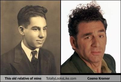 This old relative of mine  Totally Looks Like Cosmo Kramer