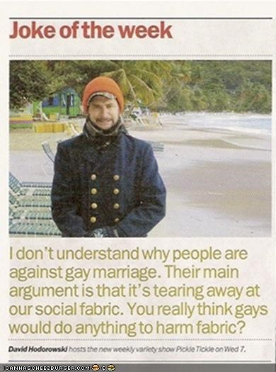 Gays Do Love Fabric...