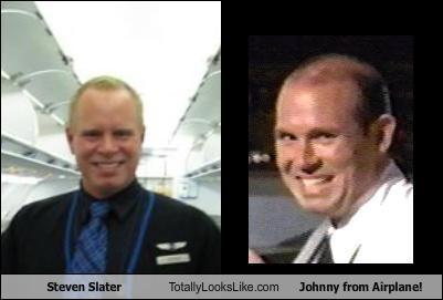 Steven Slater Totally Looks Like Johnny from Airplane!
