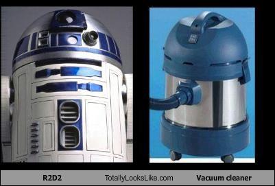 R2D2 Totally Looks Like Vacuum cleaner