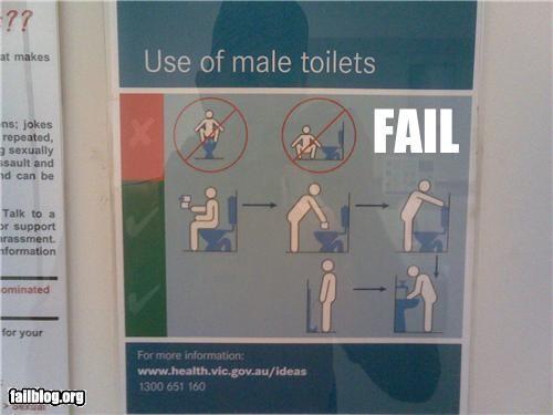 failboat,gender bender,g rated,instructions-gender,signs,toilet