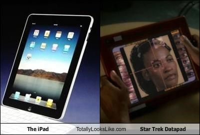 The iPad Totally Looks Like Star Trek Datapad