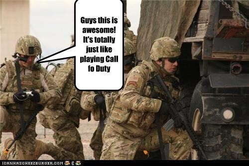 Guys this is awesome! It's totally just like playing Call fo Duty