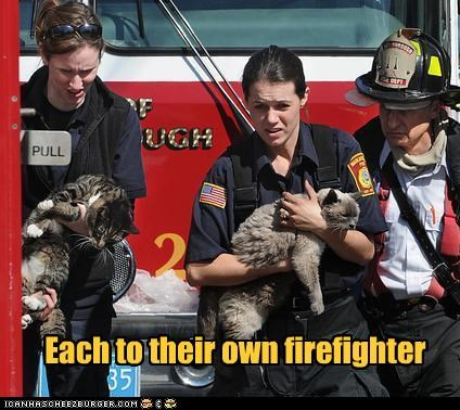 Each to their own firefighter