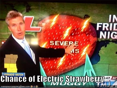 Chance of Electric Strawberry