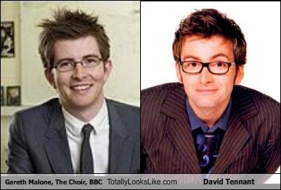 David Tennant,gareth malone,the choir