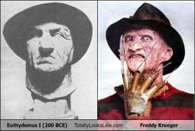 Euthydemus I (200 BCE) Totally Looks Like Freddy Krueger