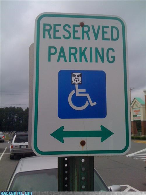 Andre the Giant has a Parking Space