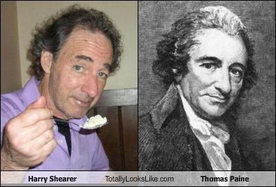Harry Shearer Totally Looks Like Thomas Paine