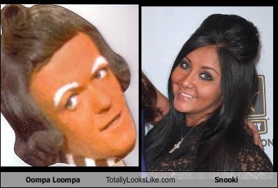 Oompa Loompa Totally Looks Like Snooki