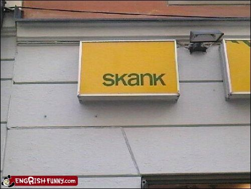 I wonder who shops here?
