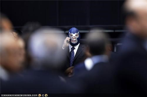 Captionable Photo of the Day: Blue Demon