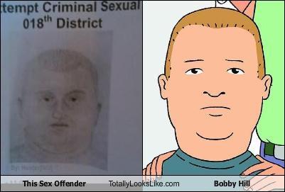 bobby hill,sex offender