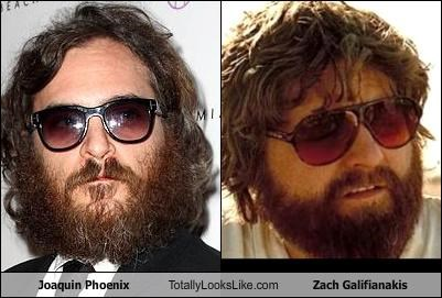 Joaquin Phoenix Totally Looks Like Zach Galifianakis