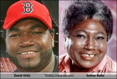 David Ortiz Totally Looks Like Esther Rolle