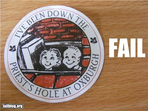 Kids Sticker Fail