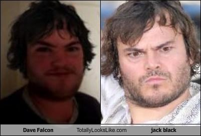 Dave Falcon Totally Looks Like jack black