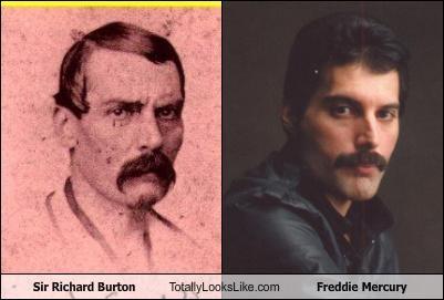 freddie mercury,sir richard burton
