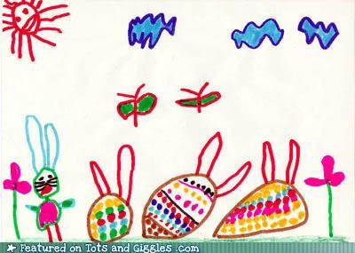 believe,curses,decor,decorating,dye,easter,Easter Bunny,easter eggs,food,funny kids drawings,holidays,hopping,messing around,painting,potions,rabbits,signs,spells,Tots and Crafts,warnings