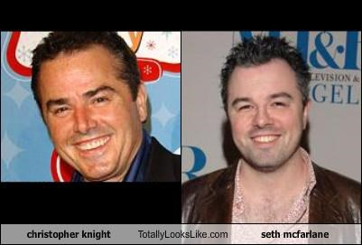 christopher knight Totally Looks Like seth mcfarlane
