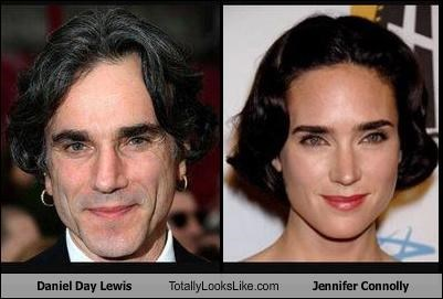 Daniel Day Lewis Totally Looks Like Jennifer Connolly