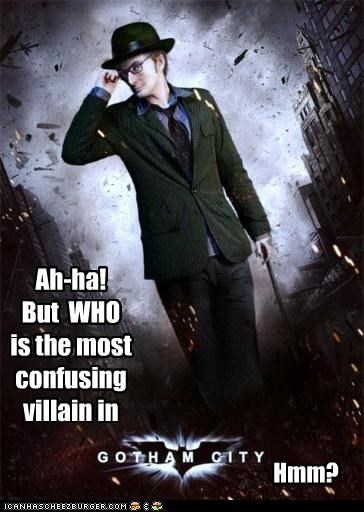 the Riddling Doctor