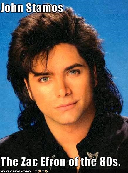 John Stamos  The Zac Efron of the 80s.
