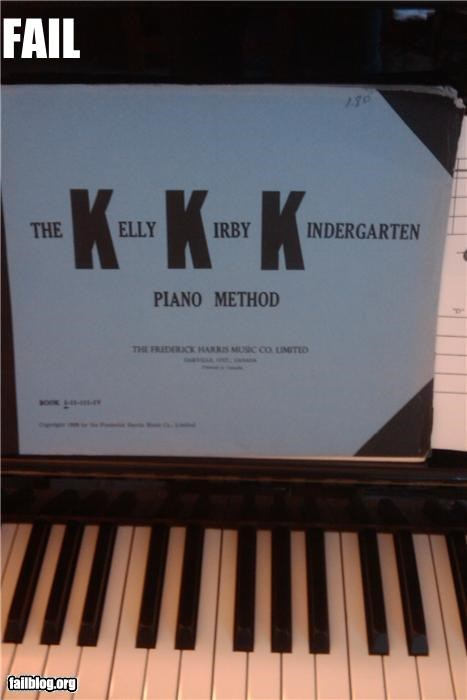Piano book acronym fail