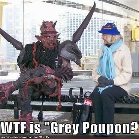 "WTF is ""Grey Poupon?"""