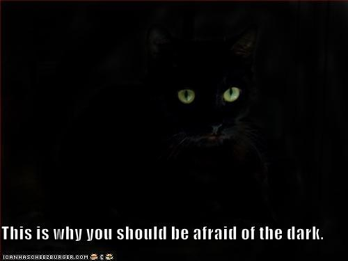 This is why you should be afraid of the dark.
