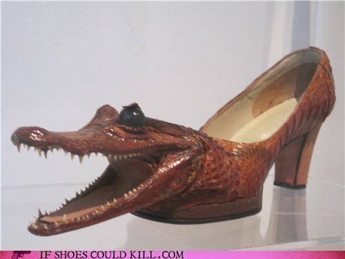 alligators,Animalia,crocodiles,eco friendly,heels,High Fashion,mario batali,Subway