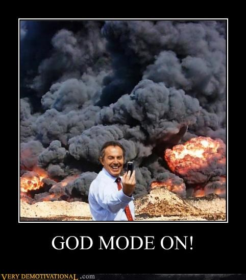 GOD MODE ON!