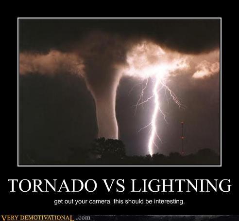 TORNADO VS LIGHTNING